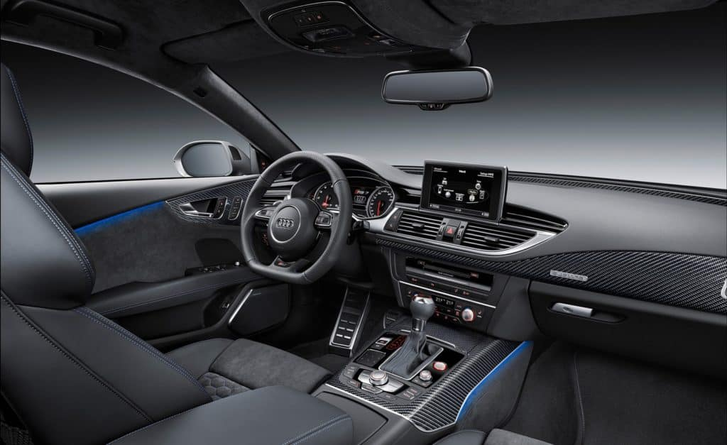Audi RS7 Performance interiors