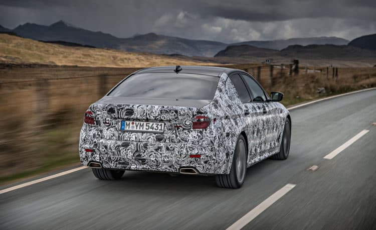 2018 BMW 5-series prototype