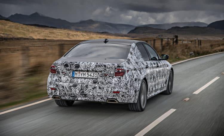 2018 BMW 5-series prototype