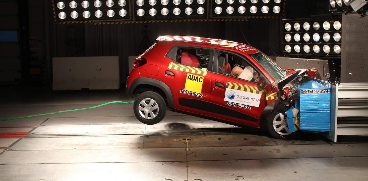 Ncap Crash Test Renault Kwid And Base Honda Mobilio Performs Poorly