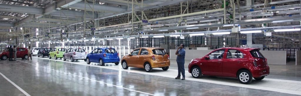 Renault-Nissan Chennai plant has a production capacity of 4,80,000 per annum
