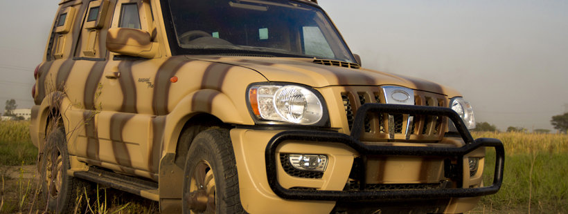 Safari Storme and Scorpio battled out for the Army deal