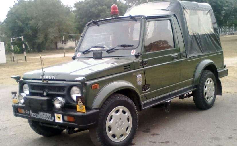 Maruti Suzuki Gypsy has been the preferred Army Vehicle until now