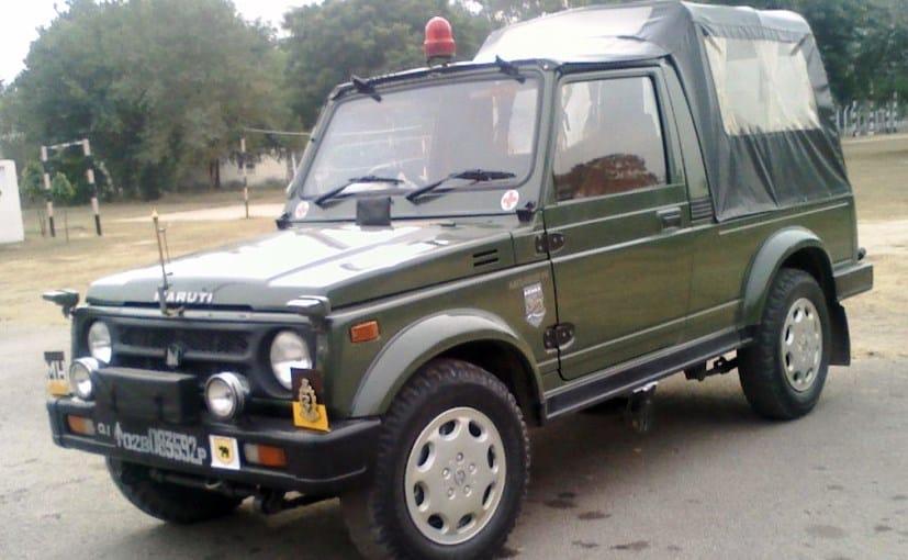Maruti Suzuki Gypsy has been the preferred Army Vehicle until now