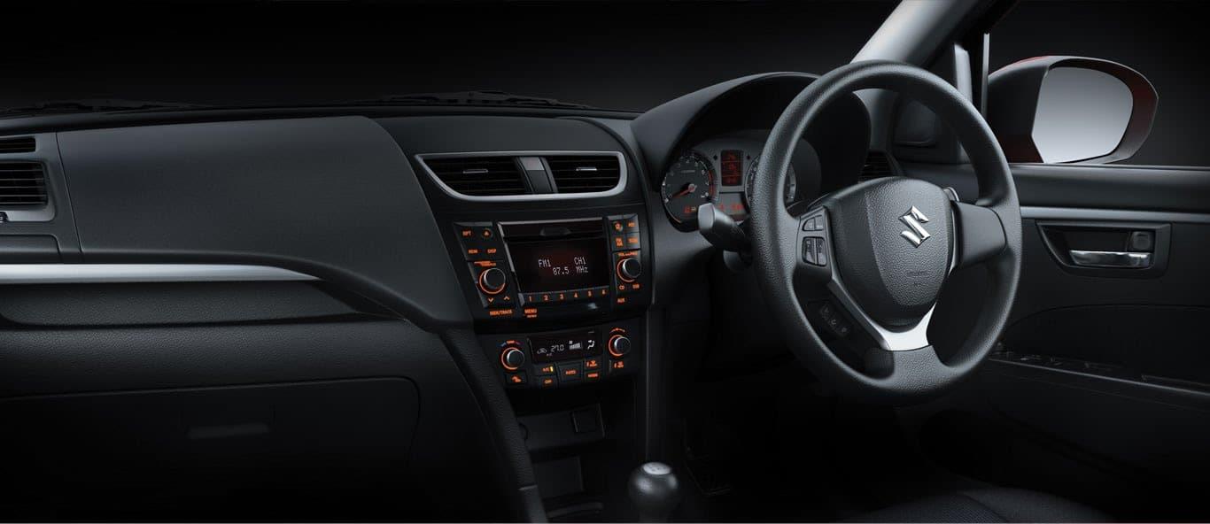 Maruti Suzuki Swift Interiors