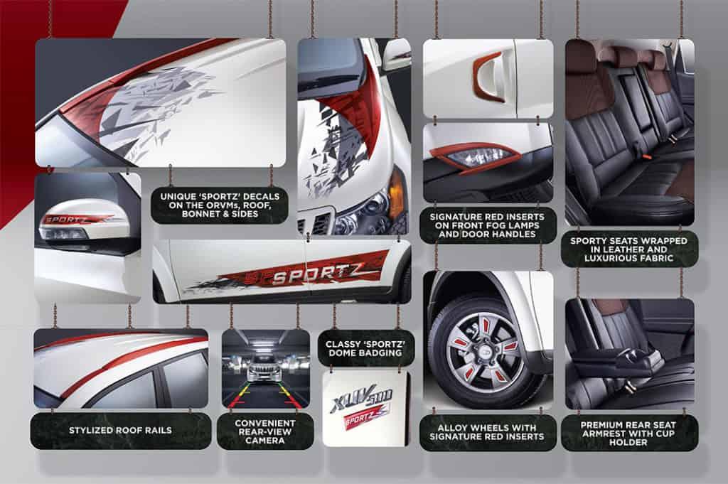 Mahindra-XUV500-Sportz-Features