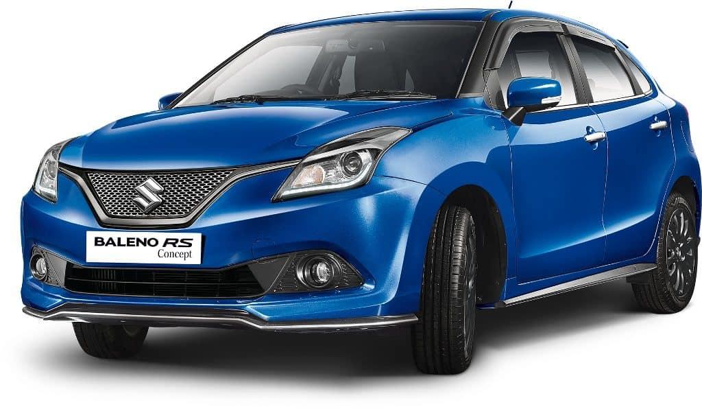 Maruti-Suzuki_Baleno-front maruti cars GST price
