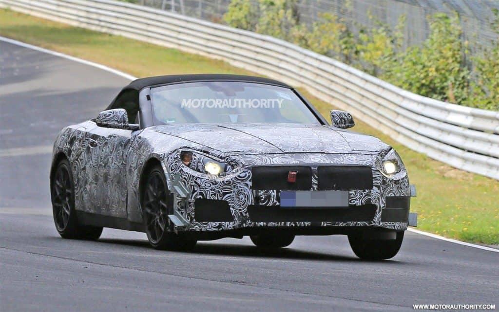 2018 BMW Z4 Spied