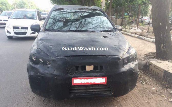 2017 Maruti S Cross Facelift Spied