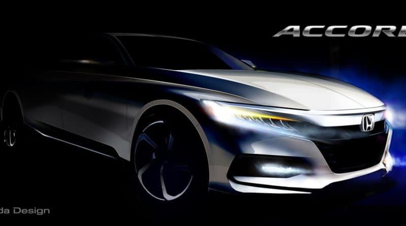 2018 10th generation Accord Honda