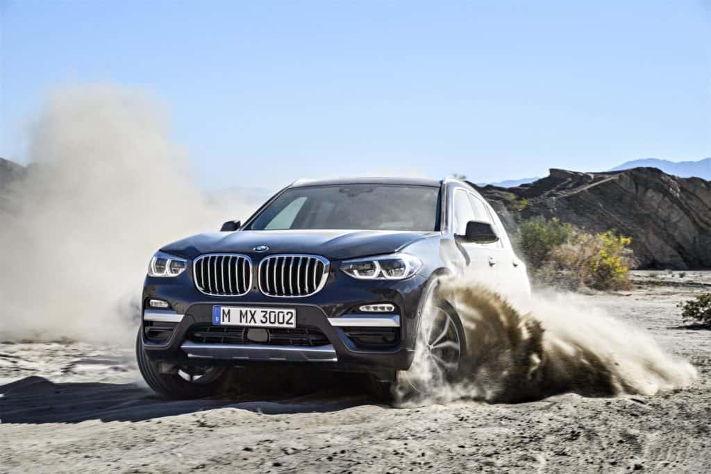 2018 BMW X3 Action