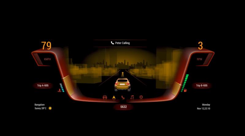 Tata Elxsi Volkswagen Autonomai Virtual Cockpit