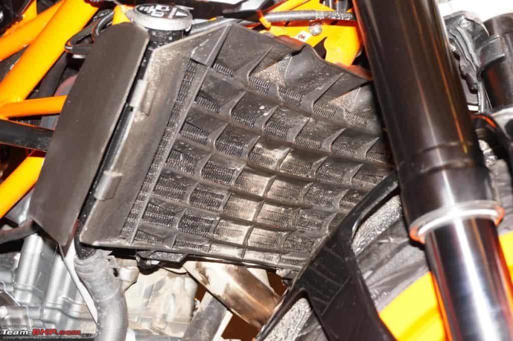KTM Radiator Fins