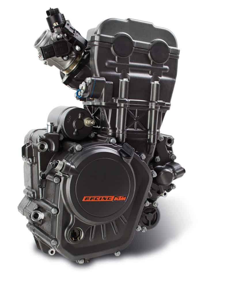 KTM engine liquid cooled water jacket