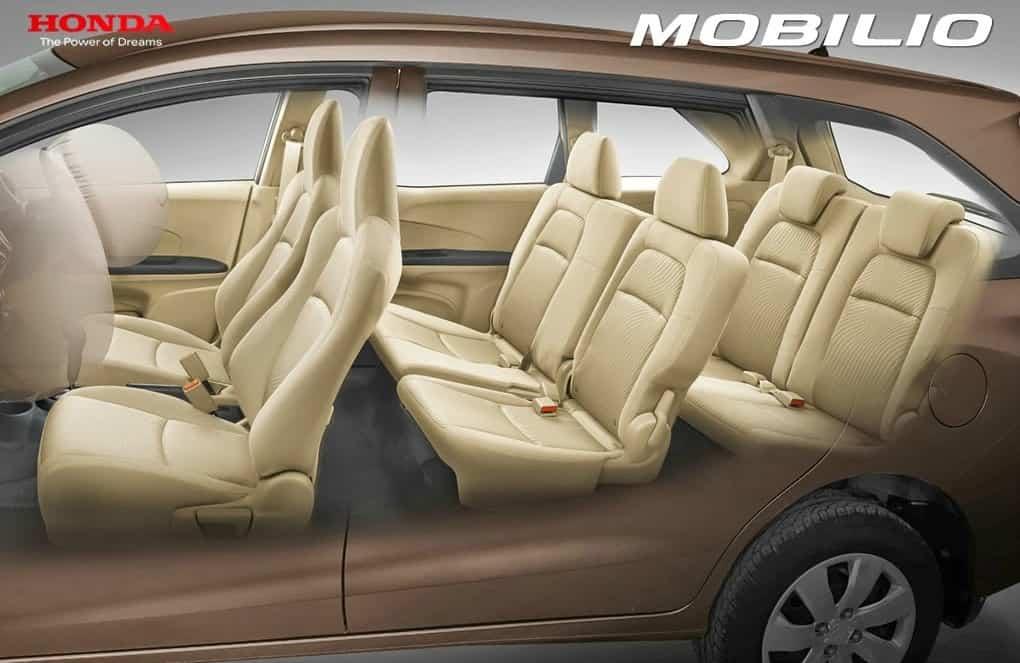 Honda Mobilio Seat Layout