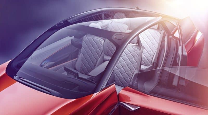VW ID Crozz Volkswagen I.D. Cross seats cabin