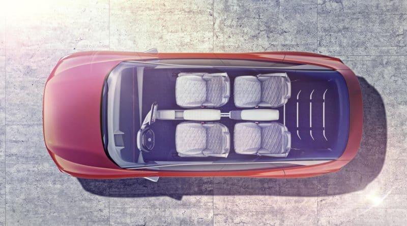 VW ID Crozz Volkswagen I.D. Cross top seats