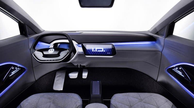 VW ID Crozz Volkswagen I.D. Cross dashboard interior cabin