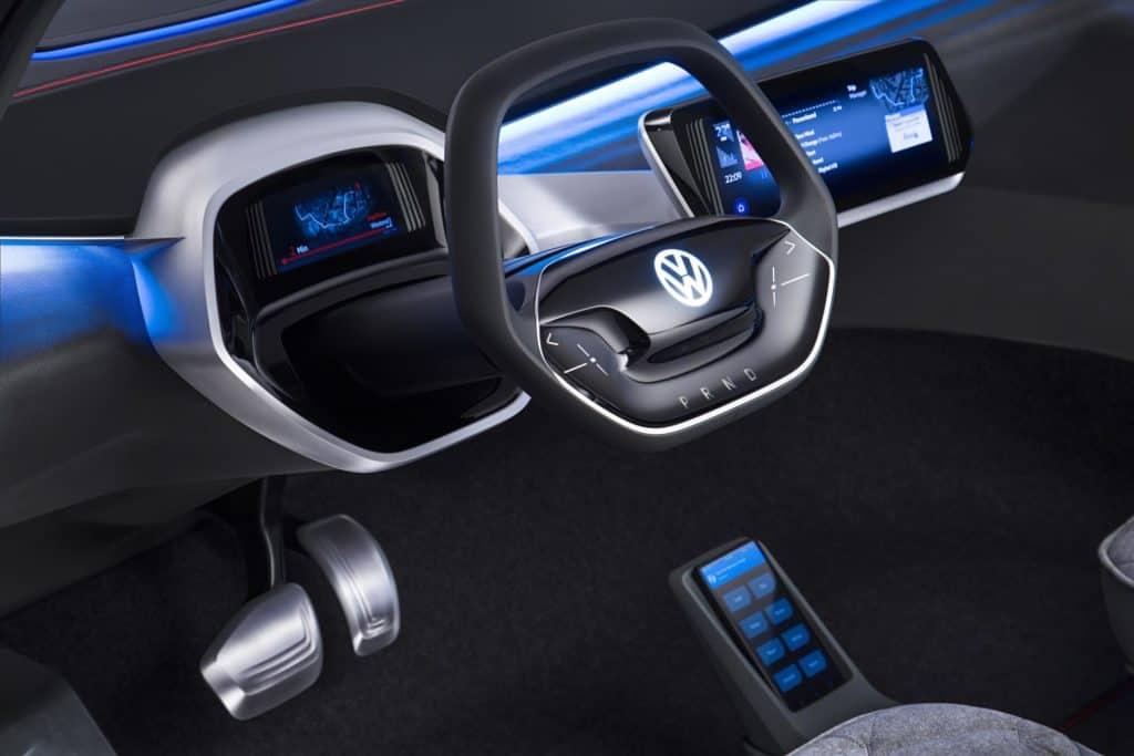 VW ID Crozz Volkswagen I.D. Cross dashboard