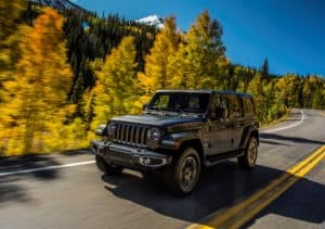 All-new 2018 Jeep Wrangler Sahara