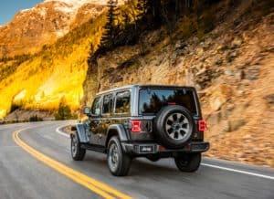All-new 2018 Jeep Wrangler Sahara