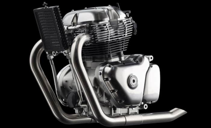 650cc parallel twin Royal Enfield Engine