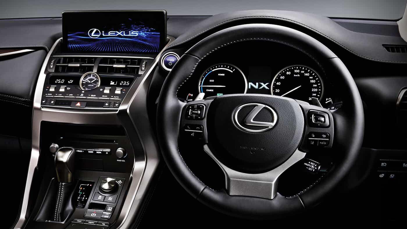 2018 Lexus NX 300h Dashboard Interior