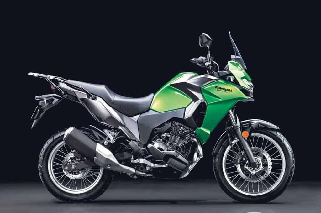 Kawasaki Versys-X 300 side view