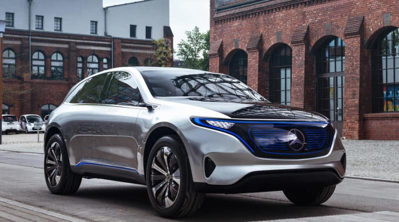 mercedes electric car eqc