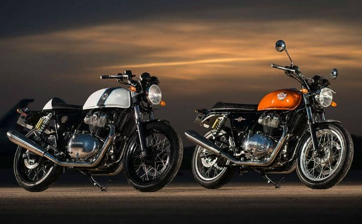 Royal Enfield Interceptor and Continental GT650