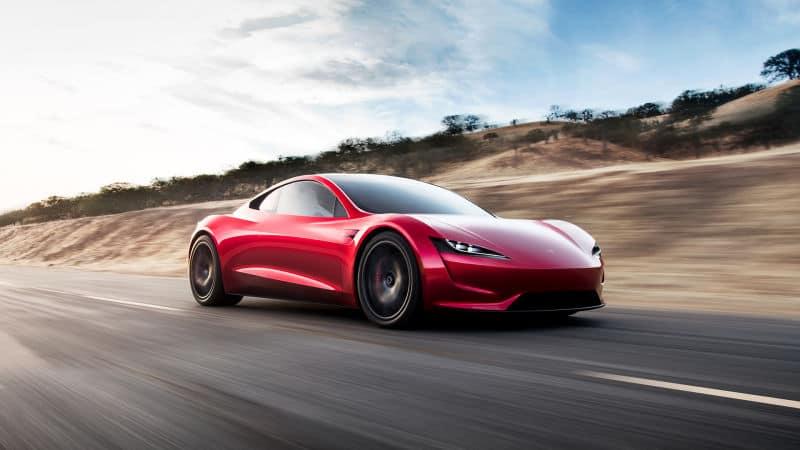 Tesla Roadster Electric Supercar