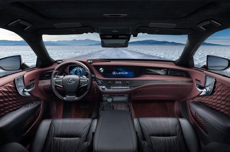 lexus ls 500h interiors india