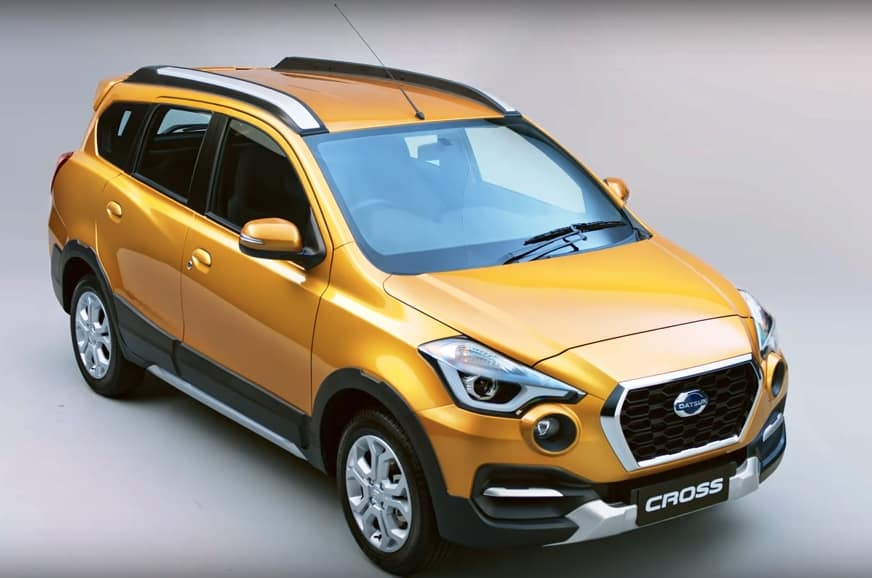 New Datsun GO-Cross Unveiled For India