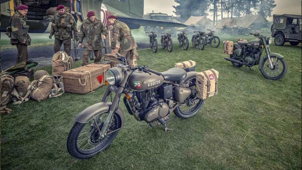 classic 500 pegasus edition motorcycle