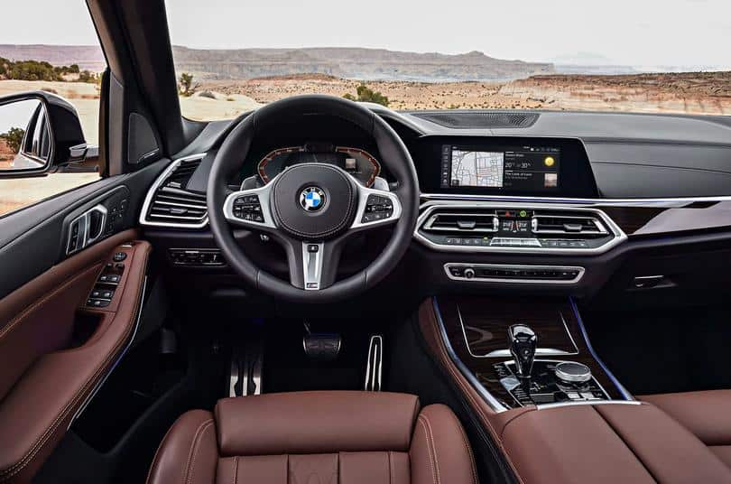 new bmw x5 interiors india