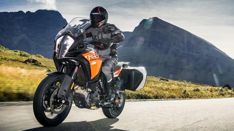 KTM Super Adventure motorbike