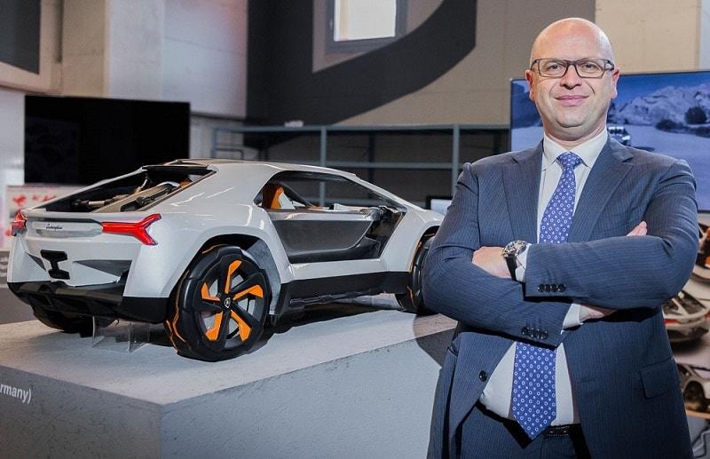 Filippo Perini car designer italy