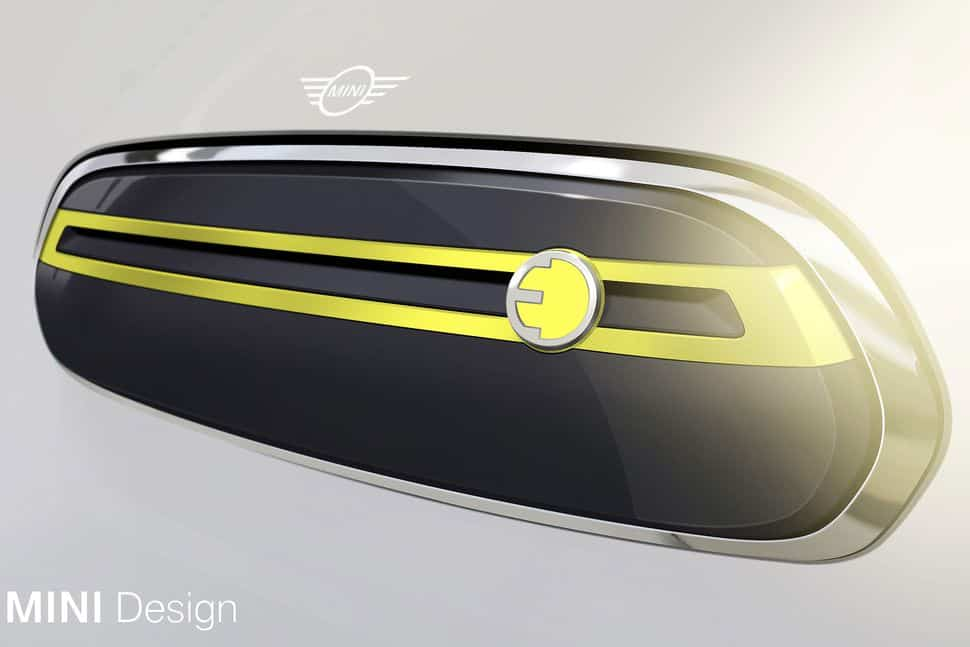 mini electric front grille