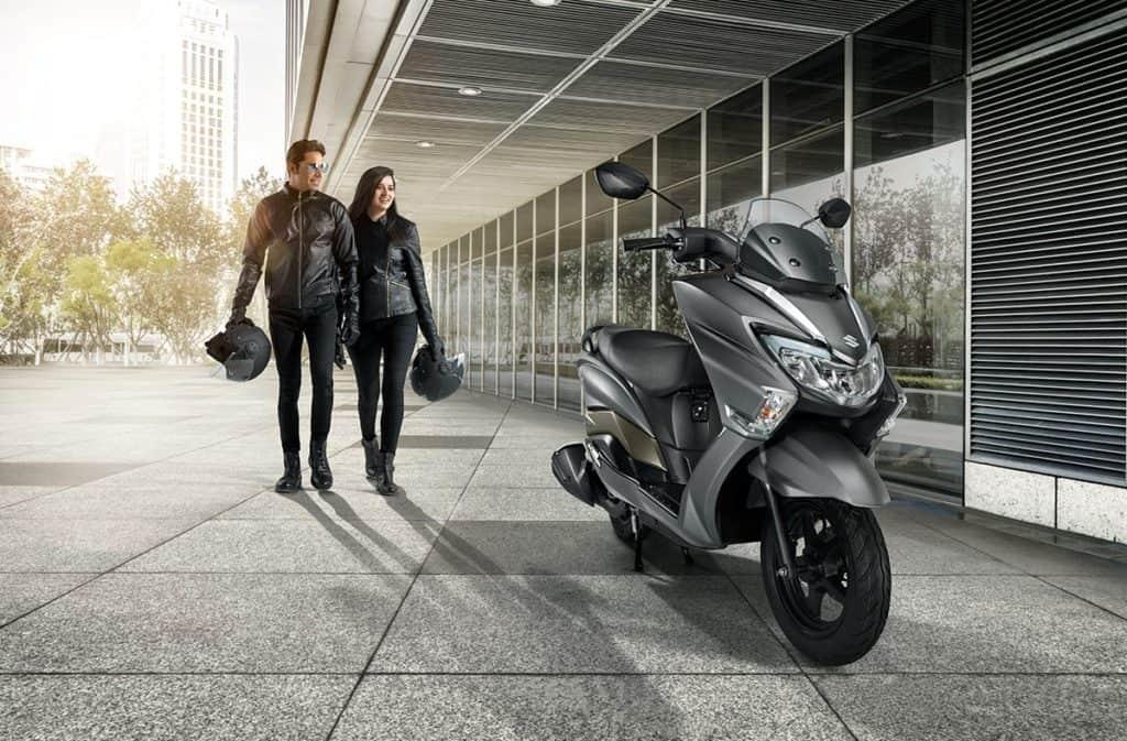 suzuki burgman street scooter india
