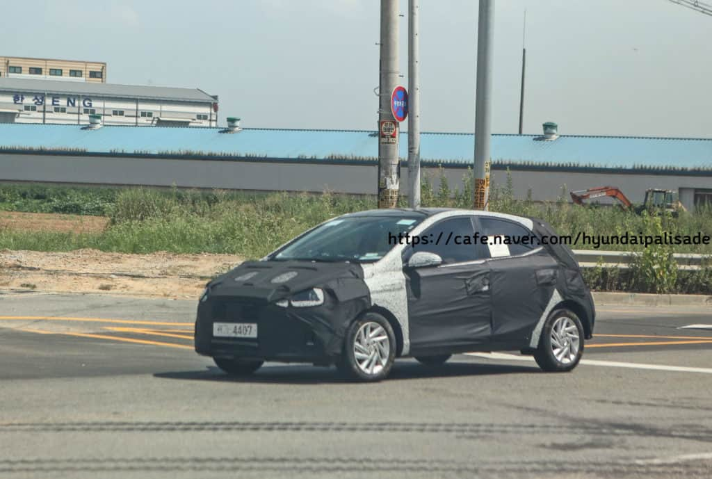 Is This The All New 2019 Hyundai Grand I10 Hyundai Hatchback Spied