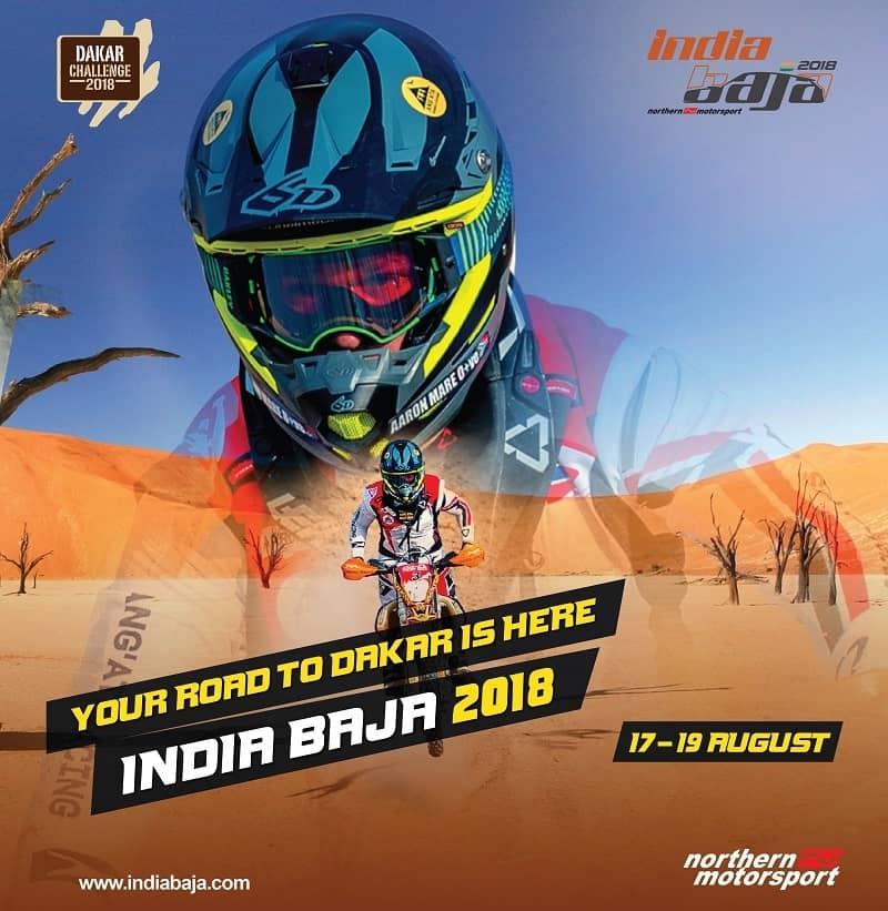 2018 india baja poster