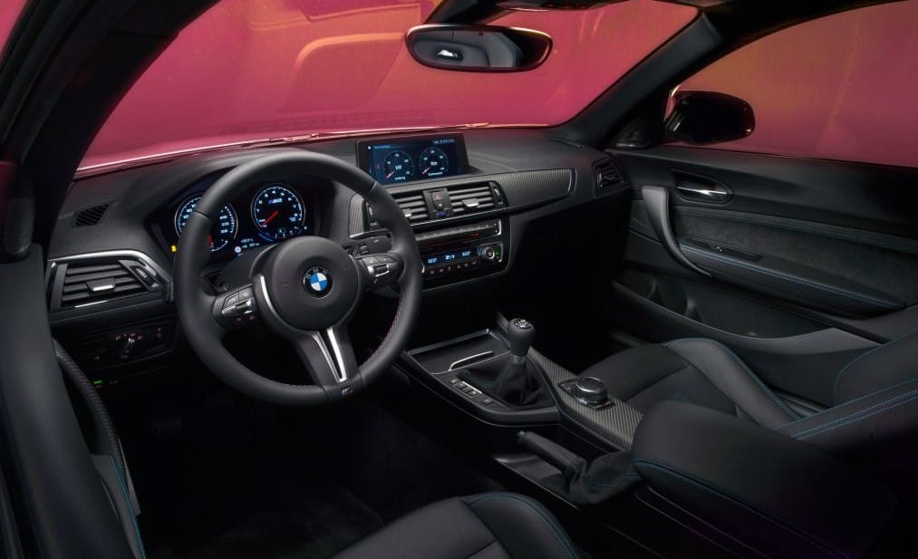 M2 Competition interiors