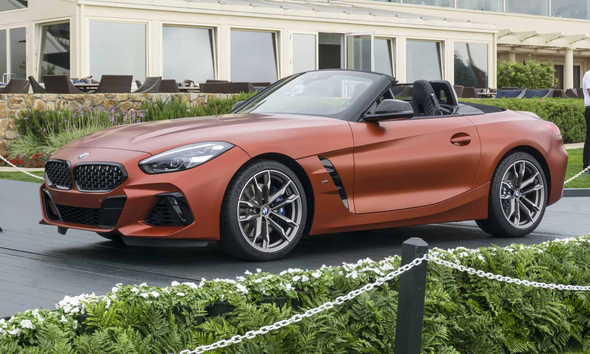 2019 Bmw Z4 Unveiled At Pebble Beach First Look Images