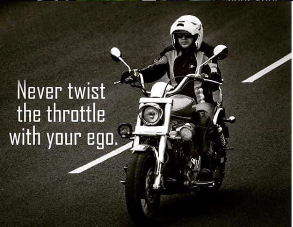 motorbike riding quote