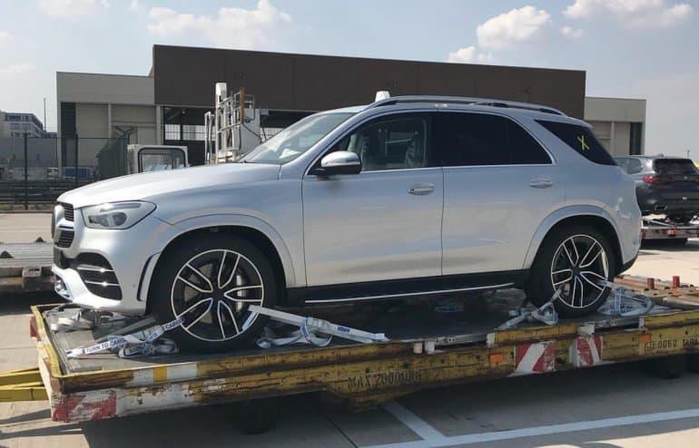 2019 Mercedes Benz GLE spyshot