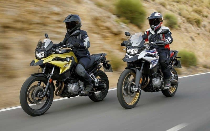 BMW Mid range adventure motorcycles