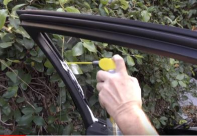 Car Window Sticking to Rubber? Lubricate Car Window Tracks