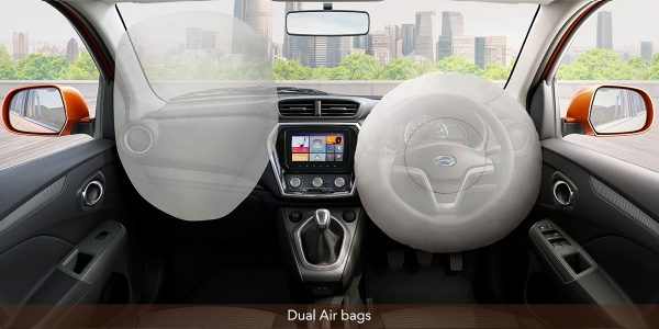 datsun go go plus safety airbags