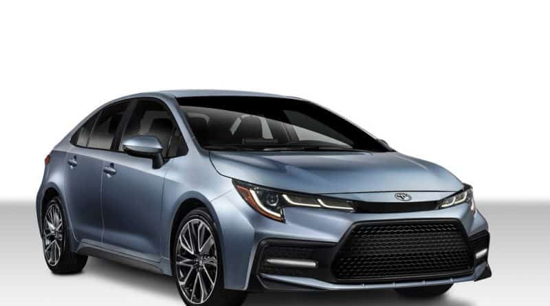 All-New 2019 Toyota Corolla Unveiled in China
