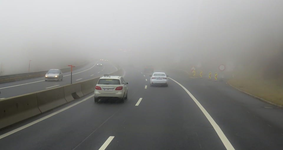 driving in fog safety